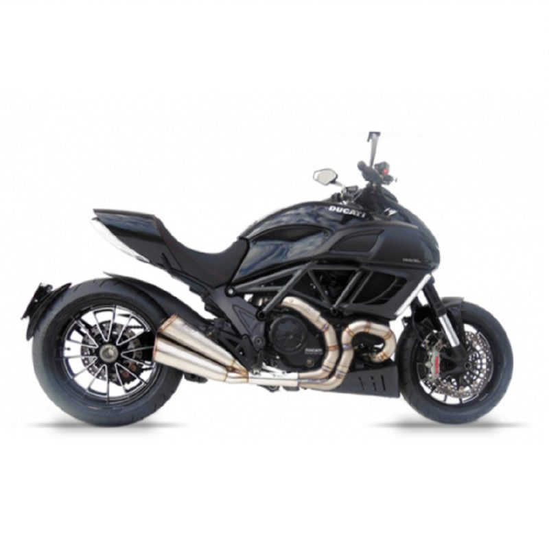 Zard Exhaust Ducati Diavel Limited Edition Titanium Slip-On Kit 2011-2018