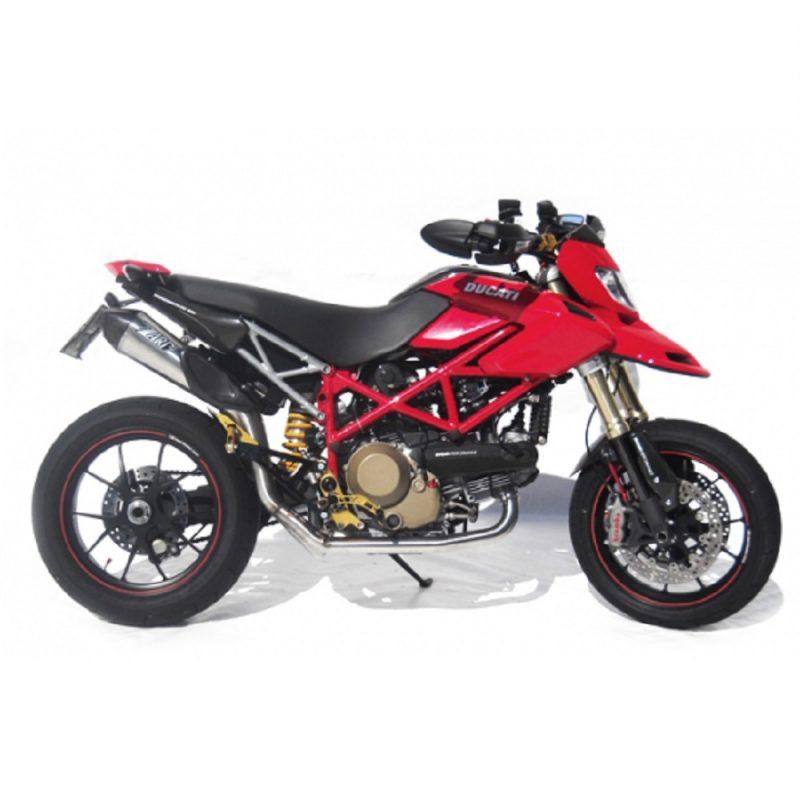 Zard Exhaust Ducati Hypermotard 796 1100 Scudo 2-1 Titanium Full System Road legal