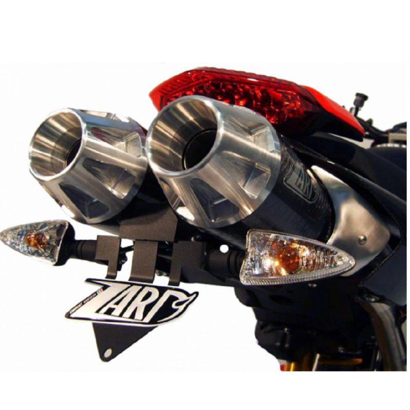 Zard Exhaust Ducati Hypermotard 796 1100 Top Gun Carbon Slip-On Kit Road Legal