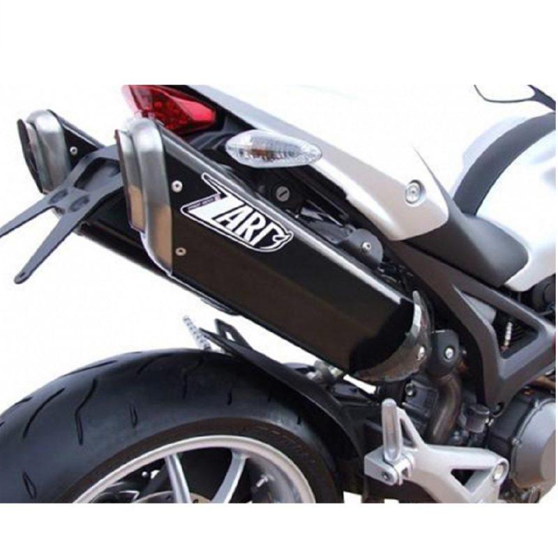Zard Exhaust Ducati Monster 696 796 1100/S Penta Carbon Slip-On Kit
