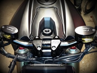 Ducati-1098-Street-Fighter-Carbon-Key-Guard-Satin-Beautiful-High-Quality