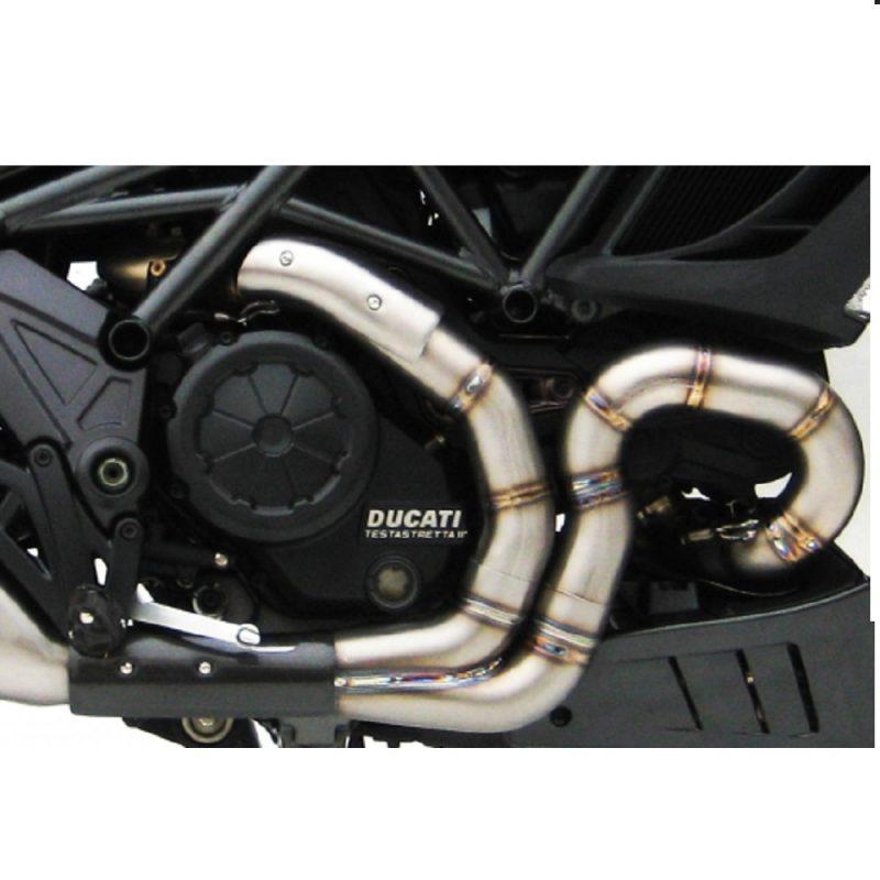 Zard Exhaust Ducati Diavel 2-1 Titanium Header Set 2011-2018