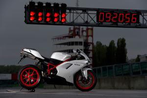 The Ducati 848 EVO is semi-affordable exotica.