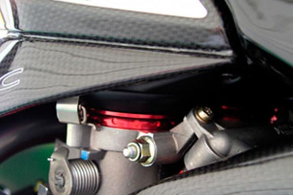 MotoCorse MV Agusta F4 / Brutale Throttle Body Air Funnel Kit