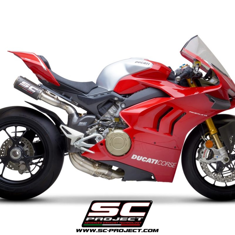 SC Project Exhaust Ducati Panigale V4 WSBK Full System