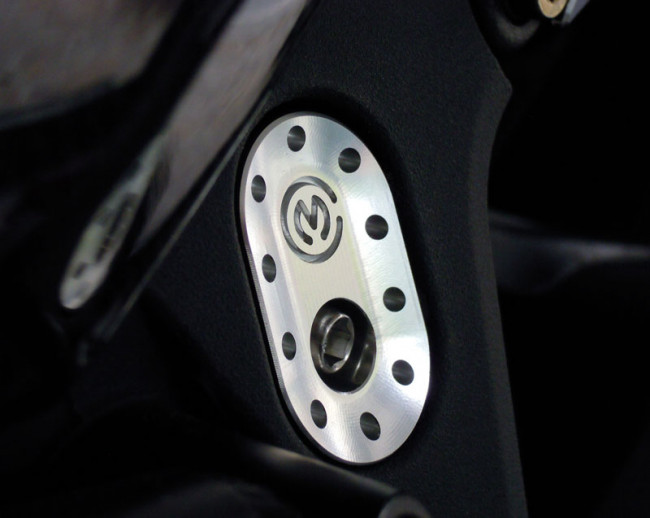 MotoCorse MV Agusta F4 / Brutale Upper Frame Plug Caps