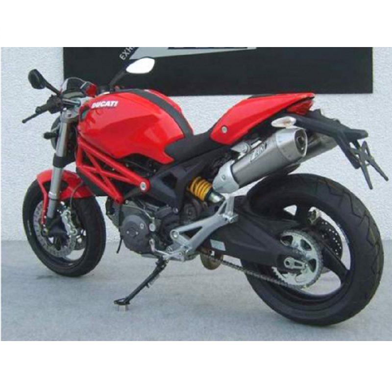Zard Exhaust Ducati Monster 696 796 1100/S Conical Carbon Slip-On Kit