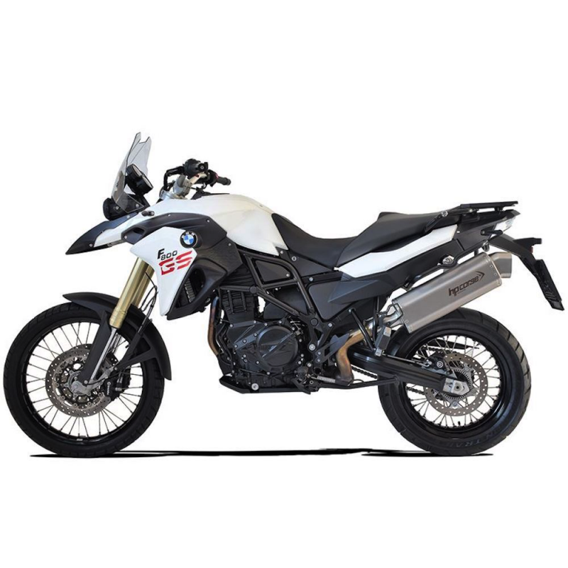 HP Corse Exhaust BMW F800GS 4-Track R Silencer 2008-17
