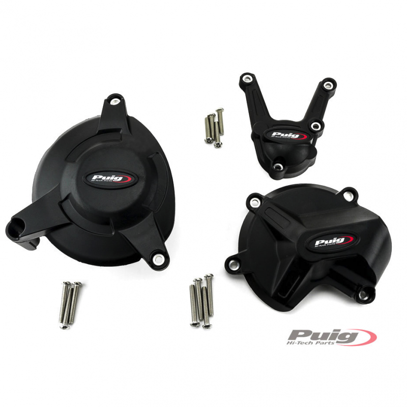 Puig BMW S1000 R RR XR Engine Protection Cover Set
