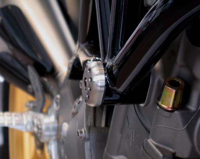 MotoCorse MV Agusta Brutale B4 Titanium Frame Cap Protector