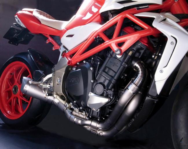"MotoCorse MV Agusta Brutale B4 Titanium Exhaust ""Evoluzione Special"" 03-18"