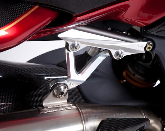 MotoCorse MV Agusta Brutale 4 Exhaust Silencer Hanger Bracket