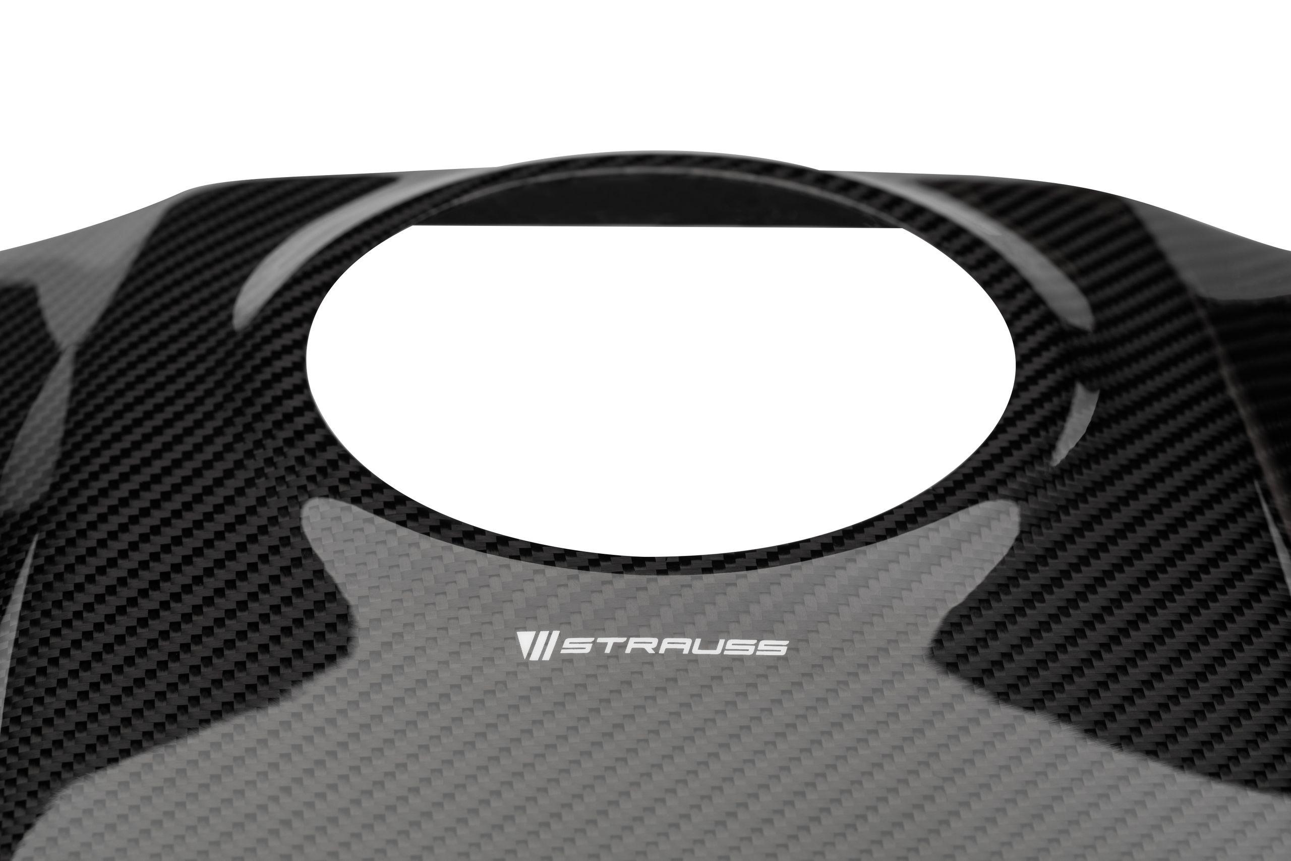 Strauss Yamaha R1 R1M Carbon Fibre Tank Cover Large Shroud 2015-2020+