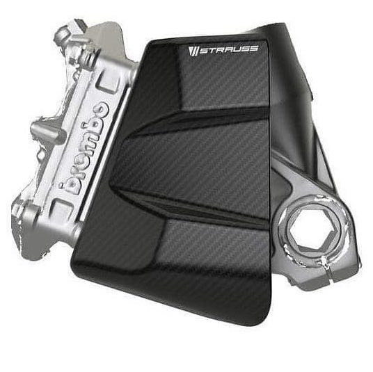 Strauss Carbon Brake Caliper Cooling Air Ducts GPX 100mm/108mm