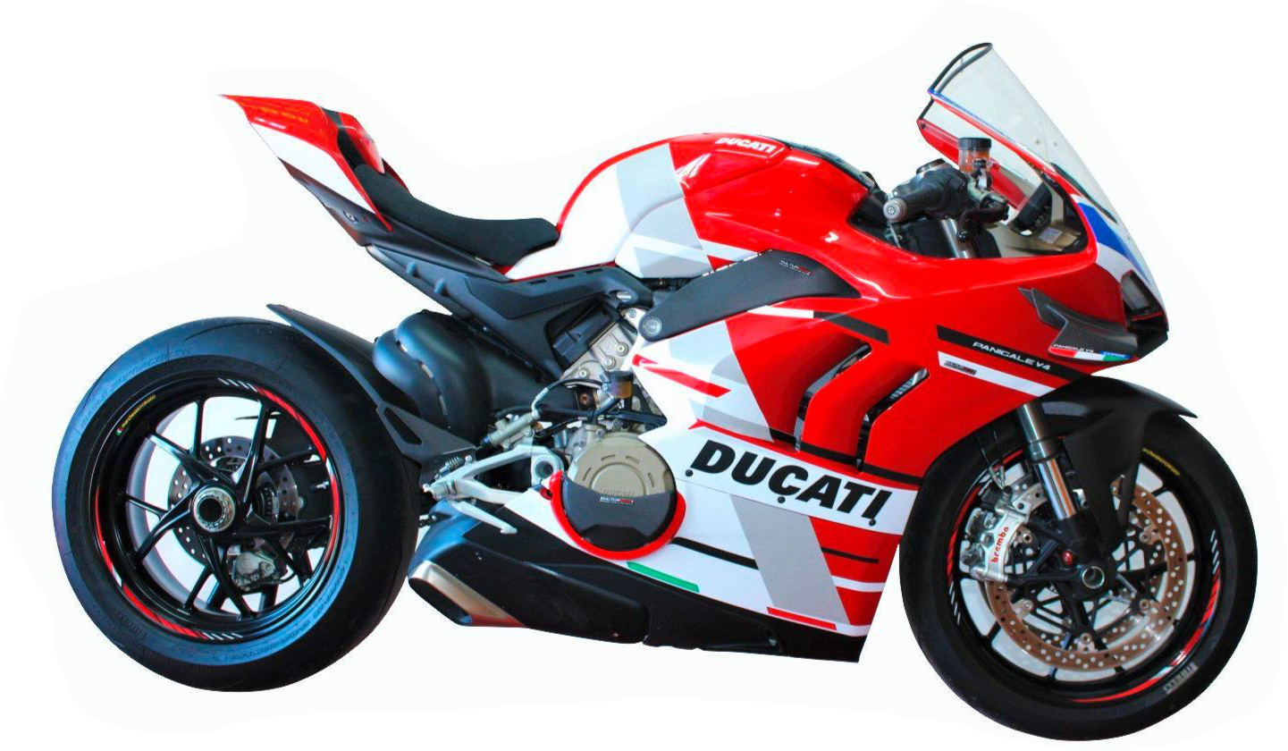 Vulturbike Ducati Panigale V4/S Corse Decal Sticker Kit Gloss 2020+