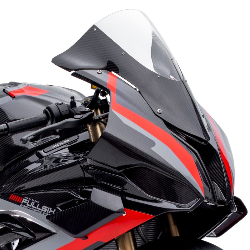 Fullsix BMW S1000RR Carbon Fibre Wind Screen Clear 2019+