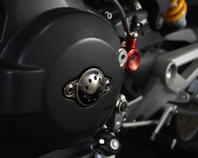 MotoCorse Ducati Titanium Engine Alternator Cover