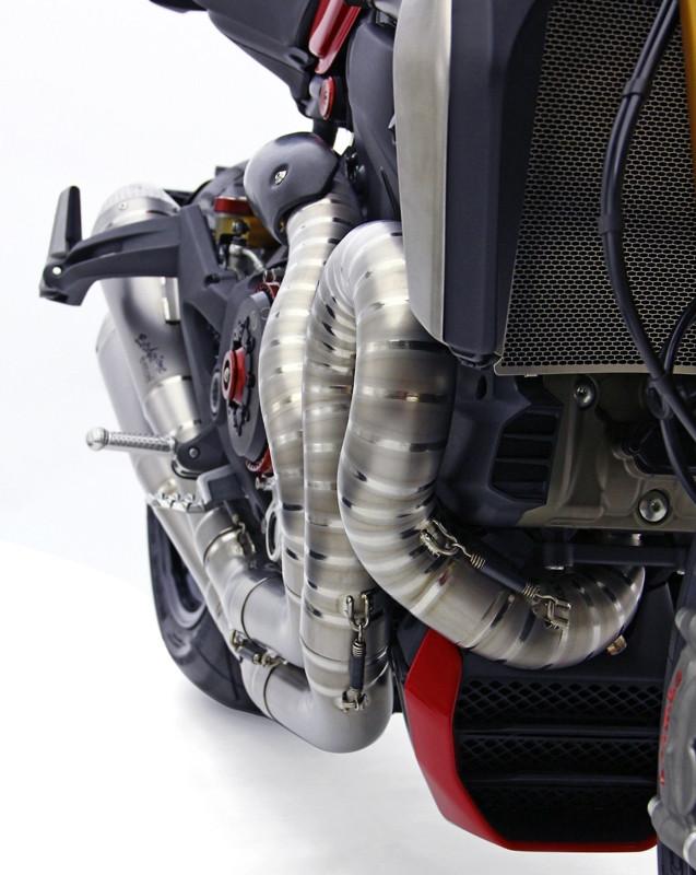 """MotoCorse Ducati Monster 1200/S/R Full Titanium Exhaust System """"Due Gemelli Dvxi"""""""