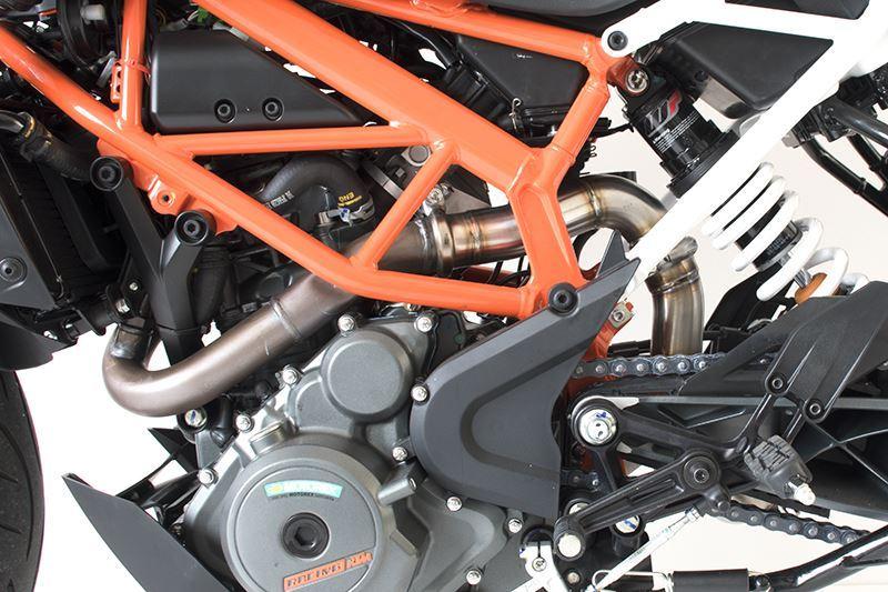 HP Corse Exhaust KTM 390 Duke De-Cat Pipe