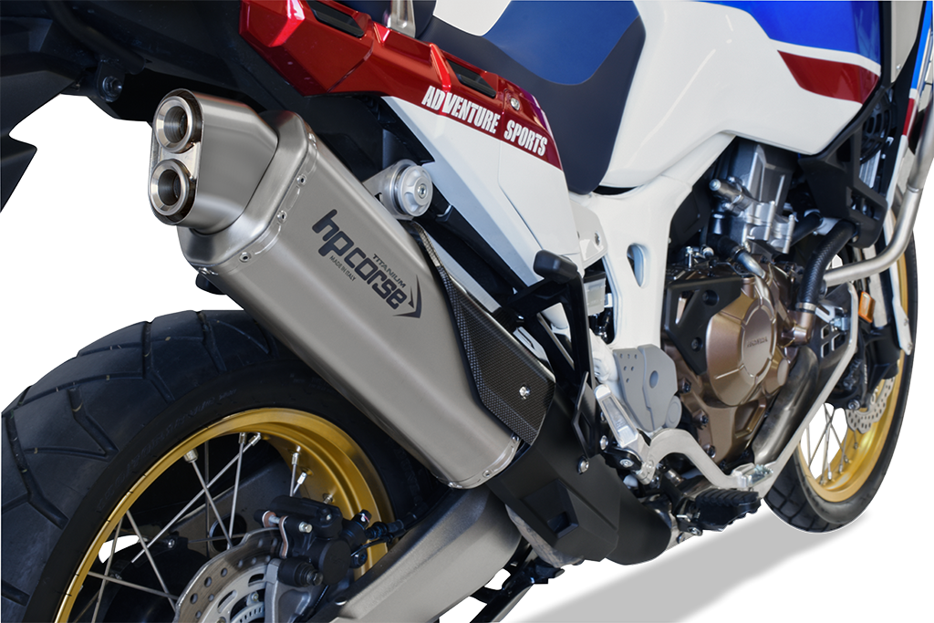 HP Corse Exhaust Honda Africa Twin 1000 4 Track-R Silencer