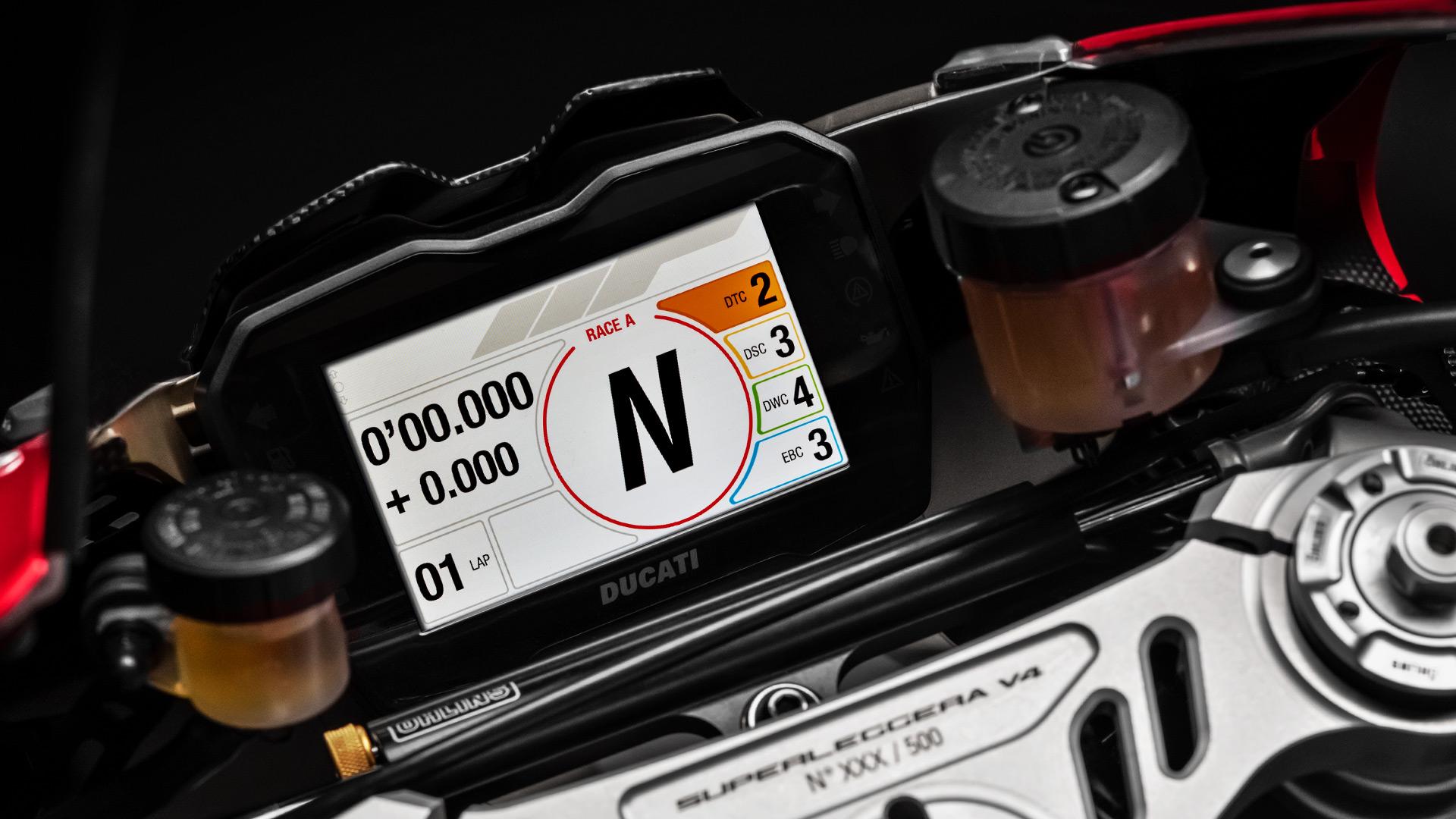 Öhlins Ducati Panigale V2 Steering Damper - Black