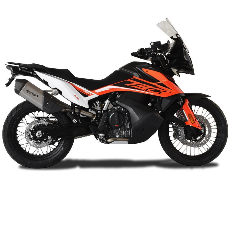 HP Corse Exhaust KTM Adventure 790 SPS Carbon Silencer