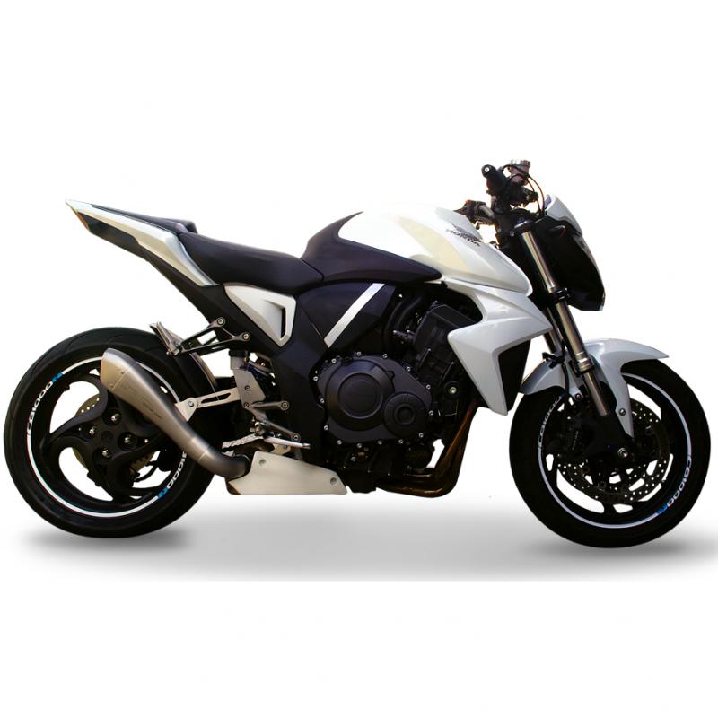 HP Corse Exhaust Honda CB1000R Hydroform Long Silencers 2008-17