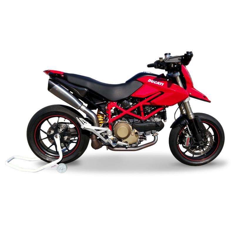 HP Corse Exhaust Ducati Hypermotard 1100 EvoXtreme 310 Silencers 07-12