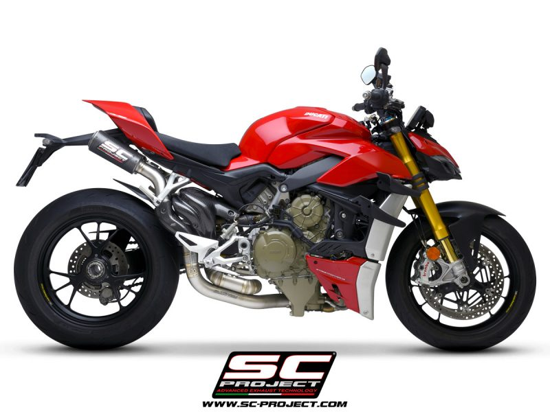 SC Project Exhaust Ducati Streetfighter V4 CR-T M2 Carbon Silencers