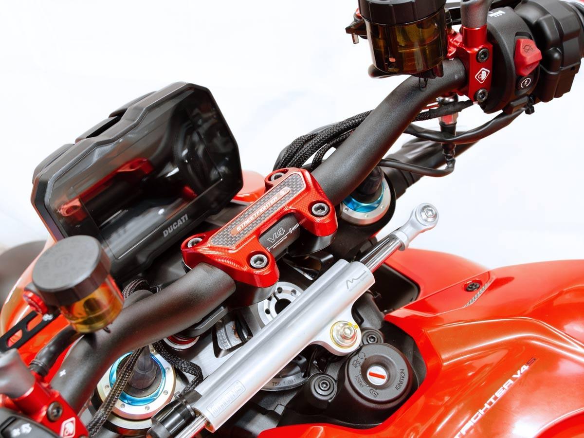 Ducabike Ducati Streetfighter V4 Handlebar Clamp