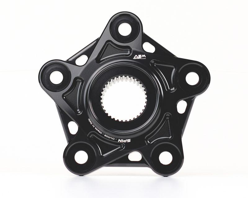 AEM Factory Ducati Rear Sprocket Flange Spin