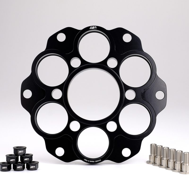 AEM Factory Ducati Sprocket Carrier Quick change sprocket