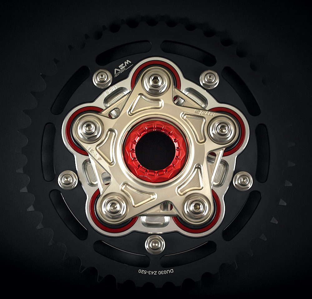 AEM Factory Ducati Rear Sprocket Flange Spin