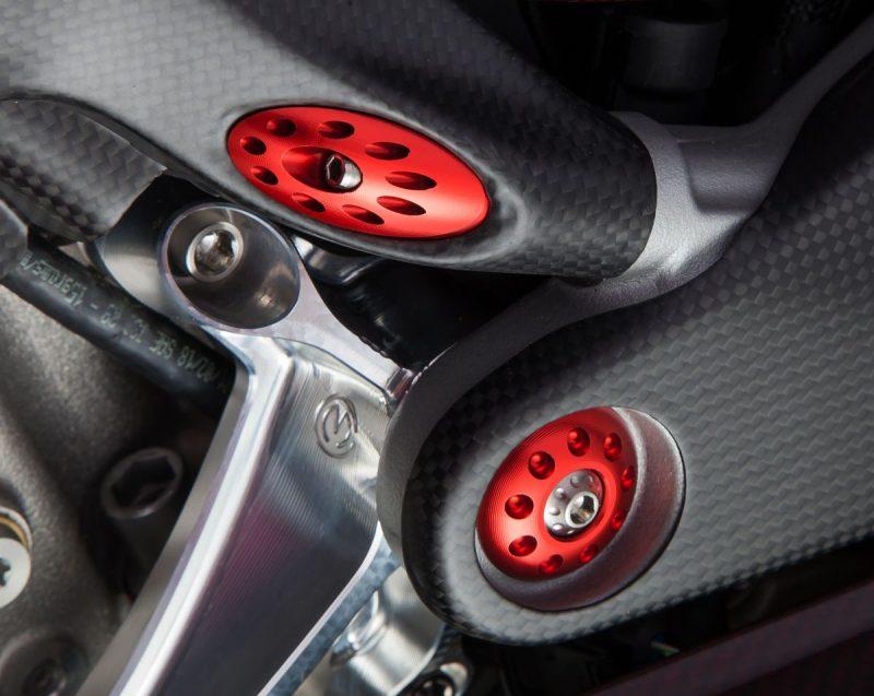 MotoCorse Ducati Streetfighter V4 Frame Plug Cap Kit