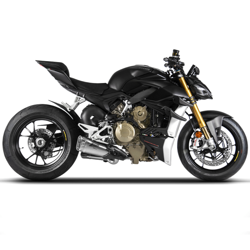 Zard Exhaust Ducati Streetfighter V4 De-Cat Slip-On Silencer