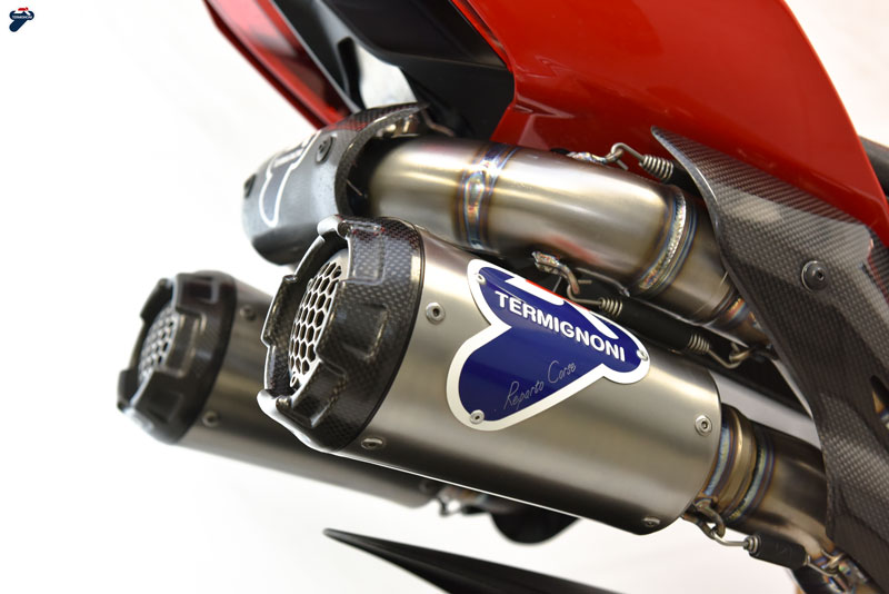 Termignoni Ducati Panigale / Streetfighter V4 D200 Full Race Exhaust System