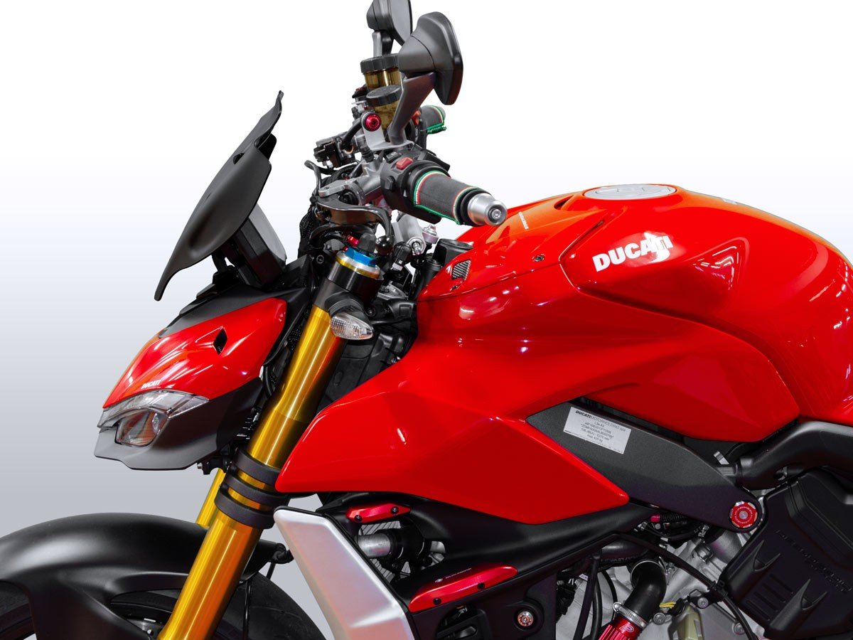 Ducabike Ducati Streetfighter V4 Touring Screen