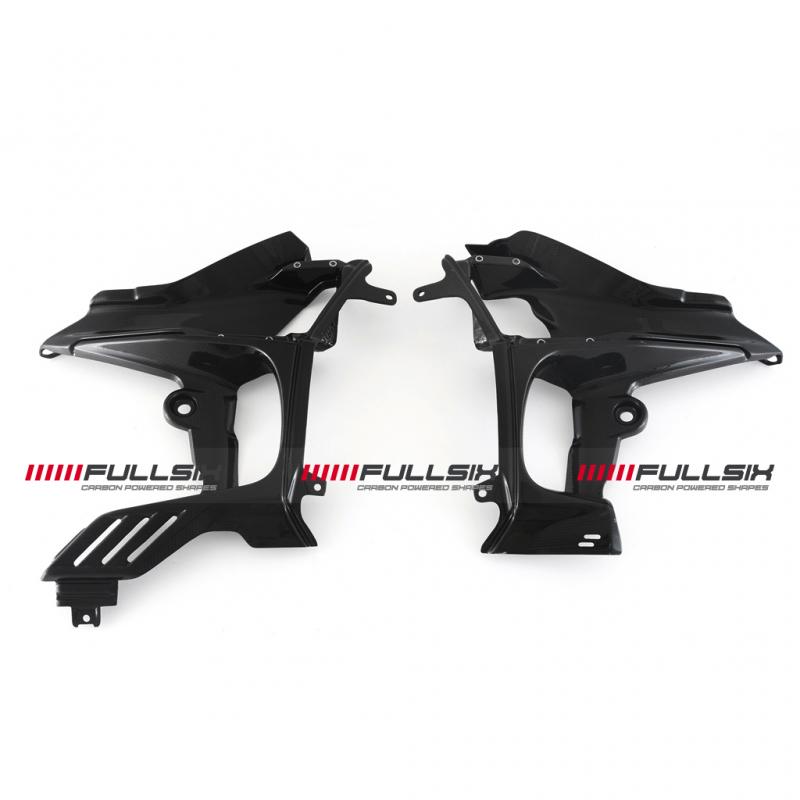 Fullsix Ducati Streetfighter V4 Carbon Fibre Inner Fairings