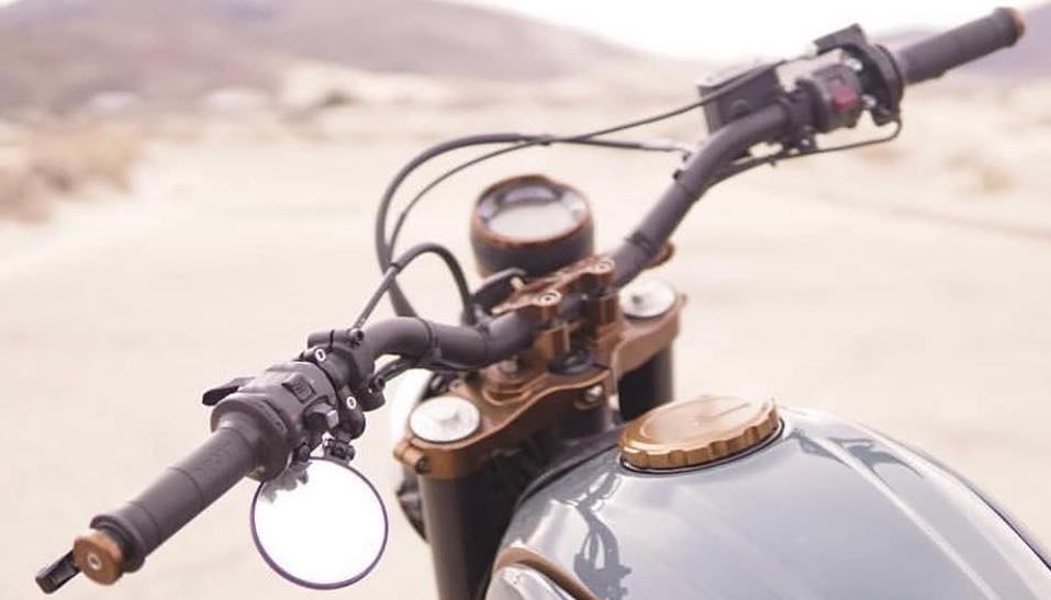 AEM Factory Ducati Scrambler 800 Speedo Bezel Visor