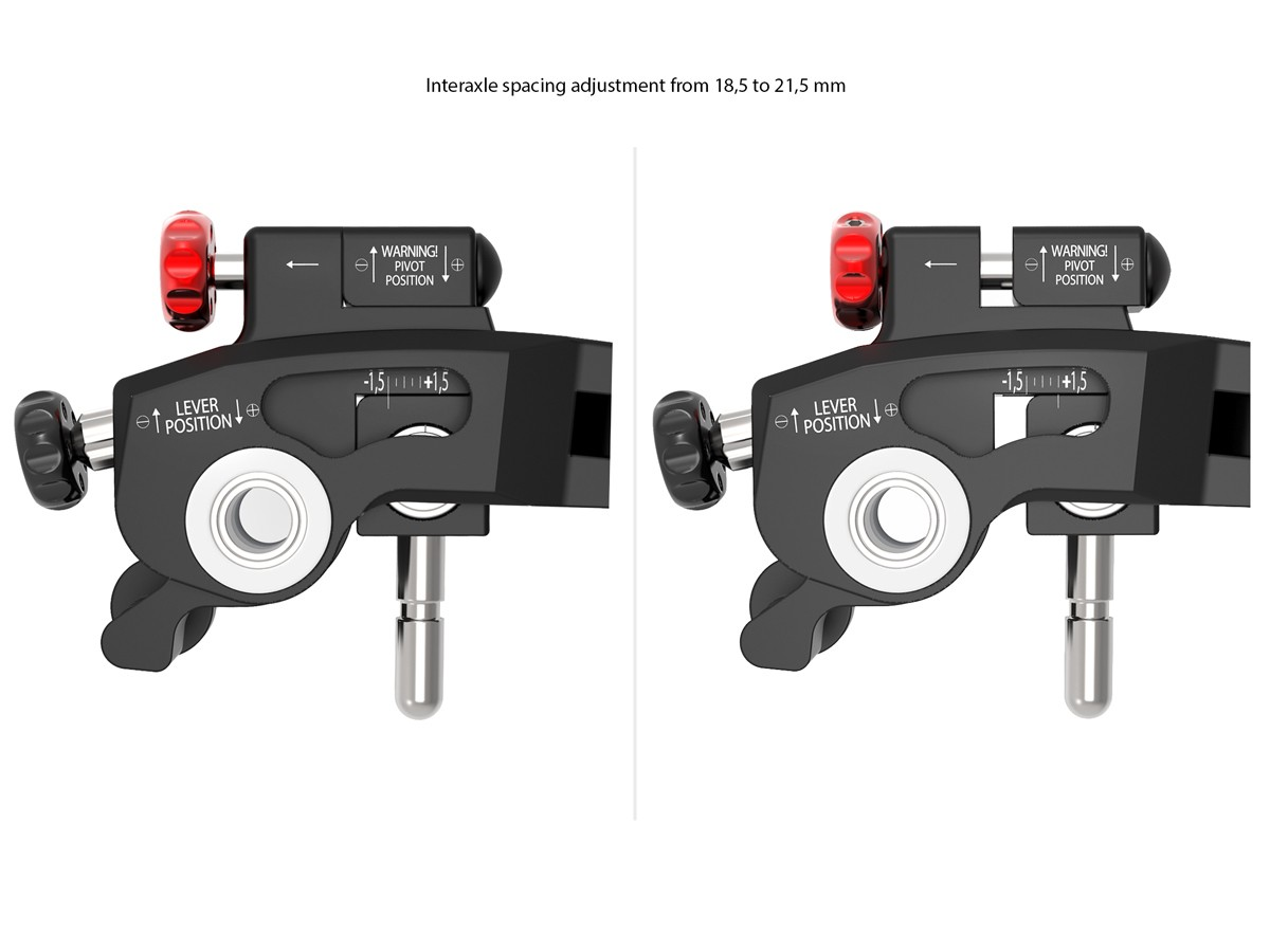 Aprilia RS660 / Tuono 660 Ultimate Adjustable Brake + Clutch Levers