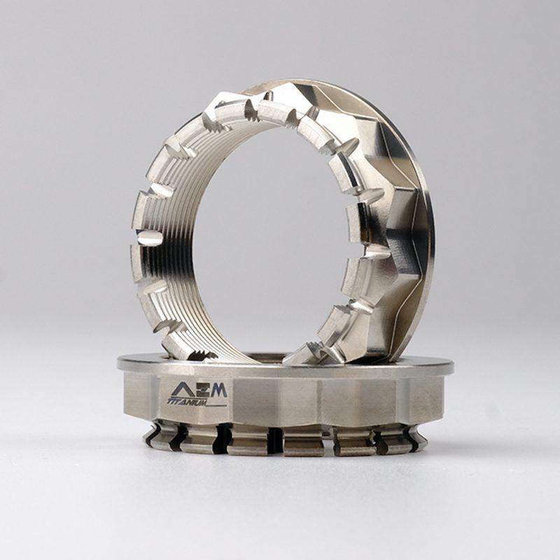 AEM Factory Ducati Titanium Wheel & Sprocket Nuts