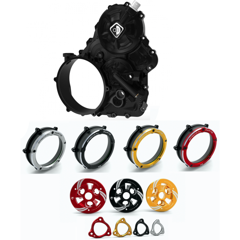 Ducabike Ducati Streetfighter V4 Clear Clutch Cover CNC Engine Kit