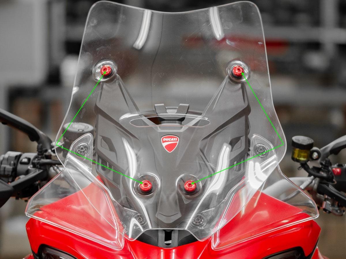 Ducabike Ducati Multistrada V4 Upper Screen Screws