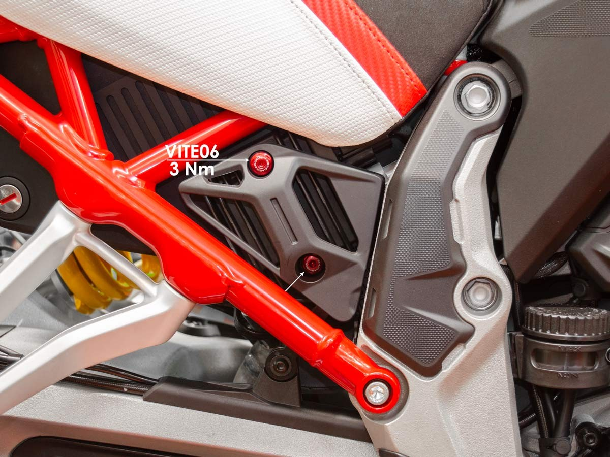 Ducabike Ducati Multistrada V4 Regulator Cover Screw Kit