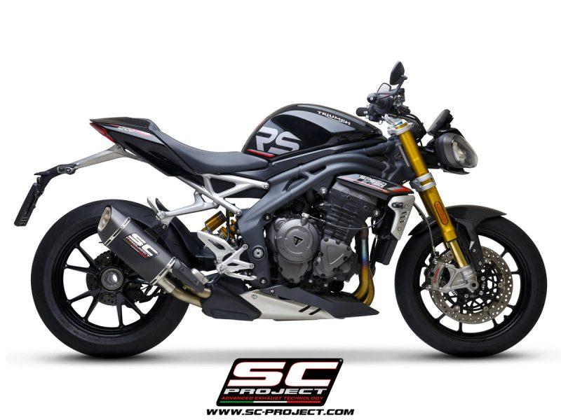 SC Project Exhaust Triumph Speed Triple 1200 SC1-R GT Silencer 2021+
