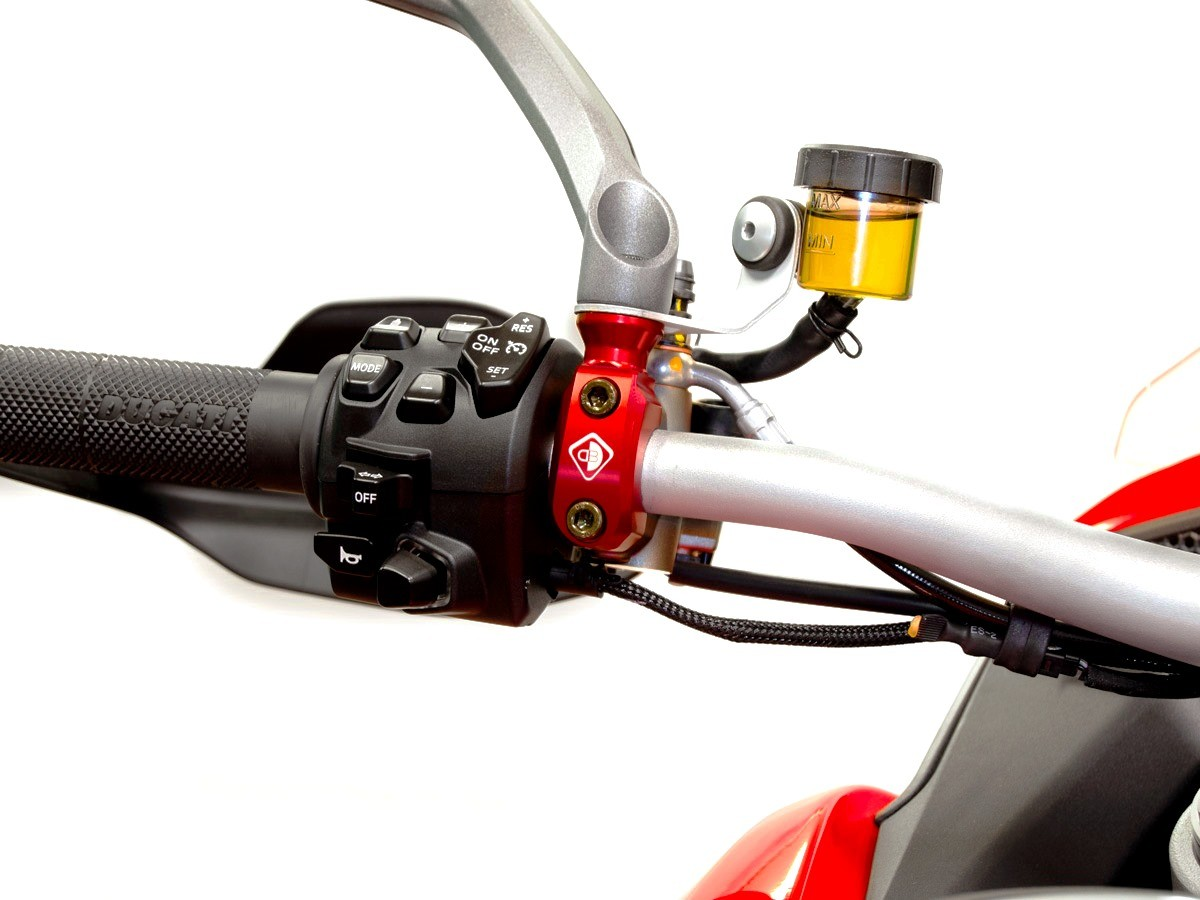 Ducabike Ducati Multistrada V4 Brembo Clutch Master Cylinder Clamp M10 LHS