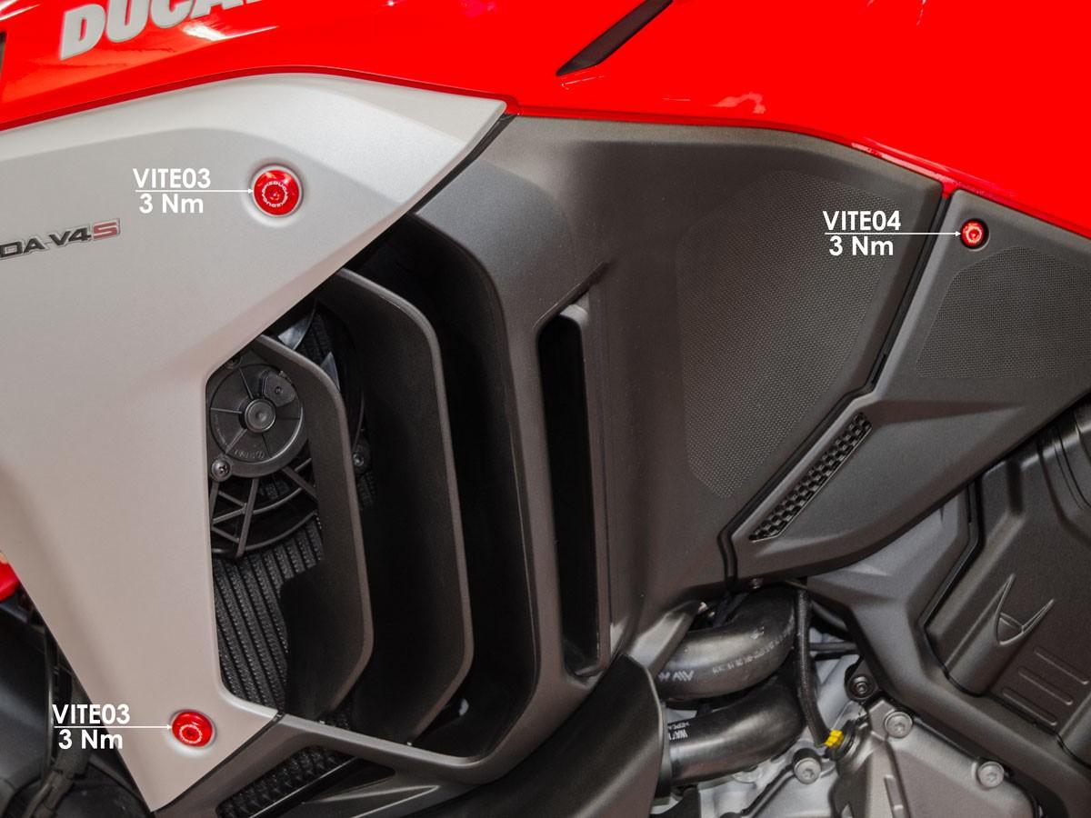 Ducabike Ducati Multistrada V4 Side Fairing Screw Kit